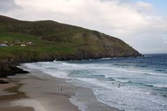 Slea Head beach, Ireland Stock Images