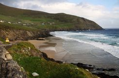 Slea Head beach, Ireland Stock Image