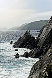 Slea Head Cliffs Royalty Free Stock Images
