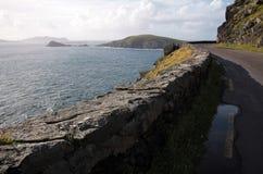 Slea Hoofdaandrijving, Ierland Stock Foto