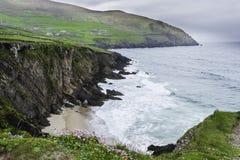 Slea huvud på Dinglehalvön, ståndsmässiga Kerry, Irland Royaltyfria Bilder