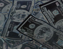Slecht Geld royalty-vrije stock foto