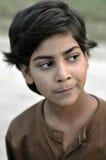 Slecht Indisch meisjesportret Stock Foto's