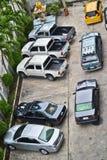 Slecht parkeren Stock Foto's
