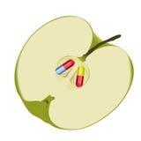 Slecht voedselconcept vector illustratie