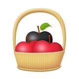 Slechte appel Stock Foto