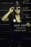 Slechte cop Stock Foto