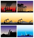 Slechte ecologie Royalty-vrije Stock Foto's