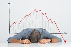 Slechte Investering royalty-vrije stock afbeelding