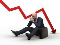 Slechte investeringen vector illustratie