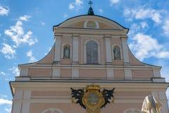 SLECHTE ISCHL, BOVEN-OOSTENRIJK /AUSTRIA - 15 SEPTEMBER: De Parochie Chu Royalty-vrije Stock Afbeelding