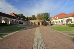 Slechte Nauheim Duitsland Royalty-vrije Stock Foto