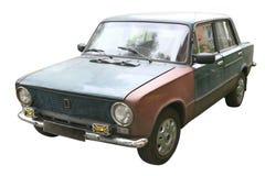 Slechte Russische Auto Royalty-vrije Stock Afbeelding