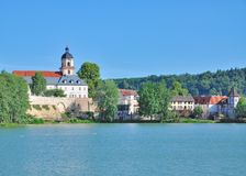 Slechte Salzungen, Thuringia, Duitsland royalty-vrije stock afbeeldingen