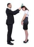 Slechte Secretaresse Stock Fotografie