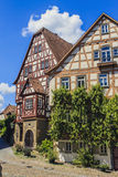 Slechte Wimpfen, Duitsland Stock Foto's