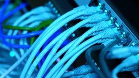 Slechts kabels stock video