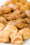 Sélection de nourriture de partie des Anglais Photo libre de droits