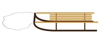 sled Stock Illustrationer