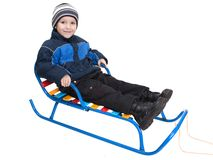 Sled Royalty Free Stock Photos