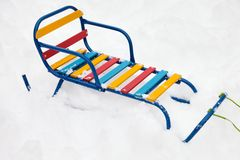 Sled Stock Photos