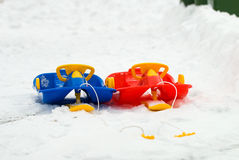 Sled Royalty Free Stock Images