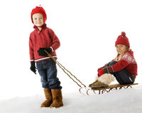 Sled Puller Stock Image