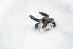 Sled race Stock Images