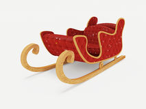 Sled Santa Claus Royalty Free Stock Photography