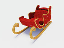 Sled Santa Claus Royalty Free Stock Photography