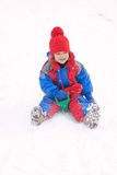 Sledding Imagem de Stock Royalty Free
