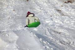 sledding Стоковое фото RF