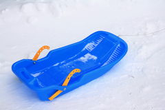 A sledge. Royalty Free Stock Photo