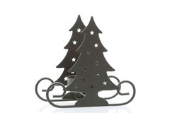 Sledge da árvore de Natal Imagens de Stock Royalty Free
