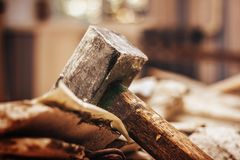 Sledge Hammer Close Up Royalty Free Stock Images
