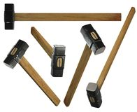 Sledge hammers Stock Photo