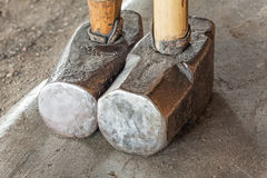 Sledge Hammers Myanmar Royalty Free Stock Photography