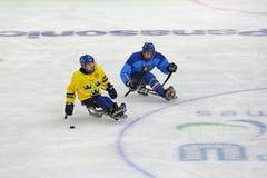 Sledge hockey Stock Photos