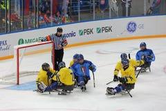 Sledge hockey Royalty Free Stock Photos