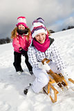 Sledging Stock Images