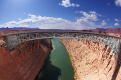 Sleek bridge Stock Photo
