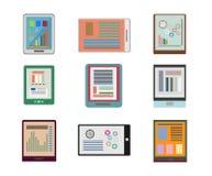 Sleek design a set of books. Modern style icons infographic. Vec Stock Photos