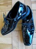 Sleek formal occasion footwear for the elegant man Stock Image