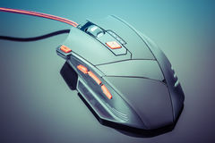 Sleek gaming mouse Stock Photos