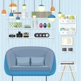 Sleek Living Room Royalty Free Stock Photo