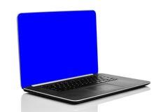 Sleek modern laptop Stock Images