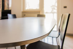 Sleek table Royalty Free Stock Photos