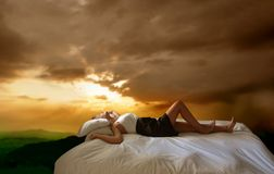 Sleep Royalty Free Stock Photos