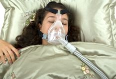 Sleep Apnea Stock Image