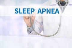SLEEP APNEA Stock Images